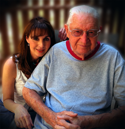 Diane Gottsman with her Father