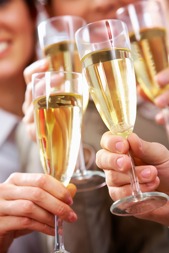 Ten Mannerly Tips to Delivering the Perfect New Year's Toast by Diane Gottsman Etiquette Expert and Modern Manners Authority