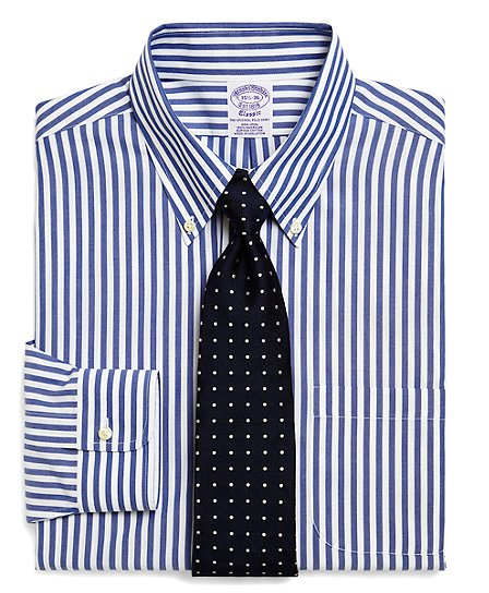 Business Casual Dress Attire via Brooks Brothers