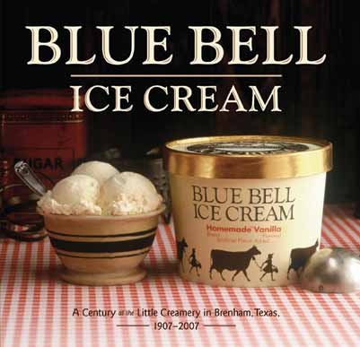 Ice cream etiquette for Christmas cookie ice cream blue bell