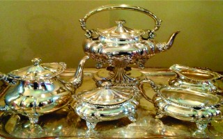 tea party etiquette, Diane Gottsman, silver tea service