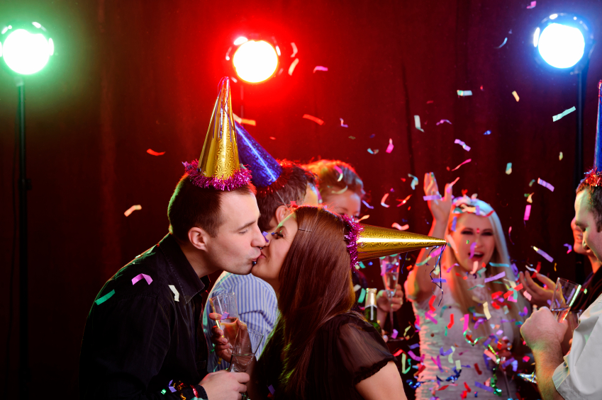New Year's Eve Kissing Etiquette by Diane Gottsman, Etiquette Expert and Modern Manners Authority.