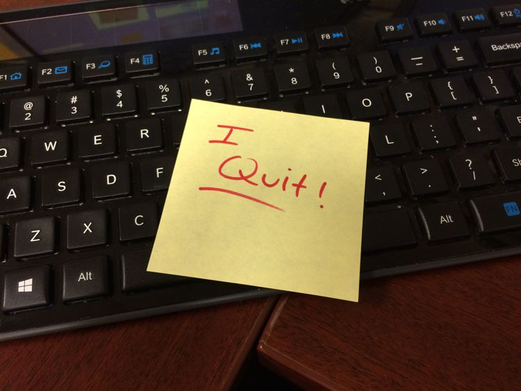 Career etiquette on how to quit your job