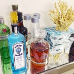 Seven Ways to Style a Bar Cart