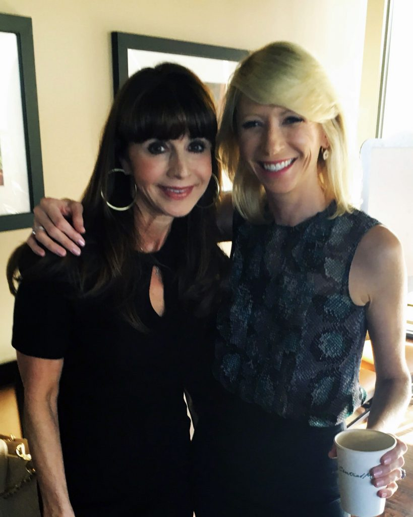 Etiquette Expert Diane Gottsman with Amy Cuddy