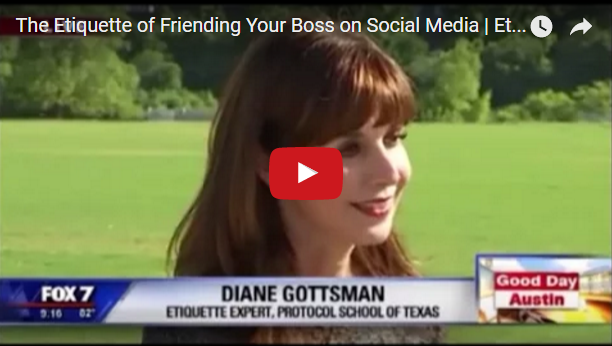 the etiquette of friending your boss
