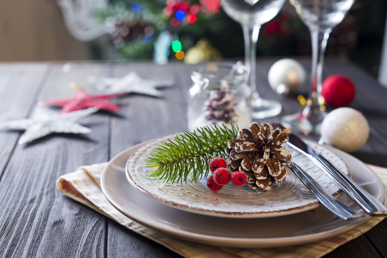 The holiday table and meals