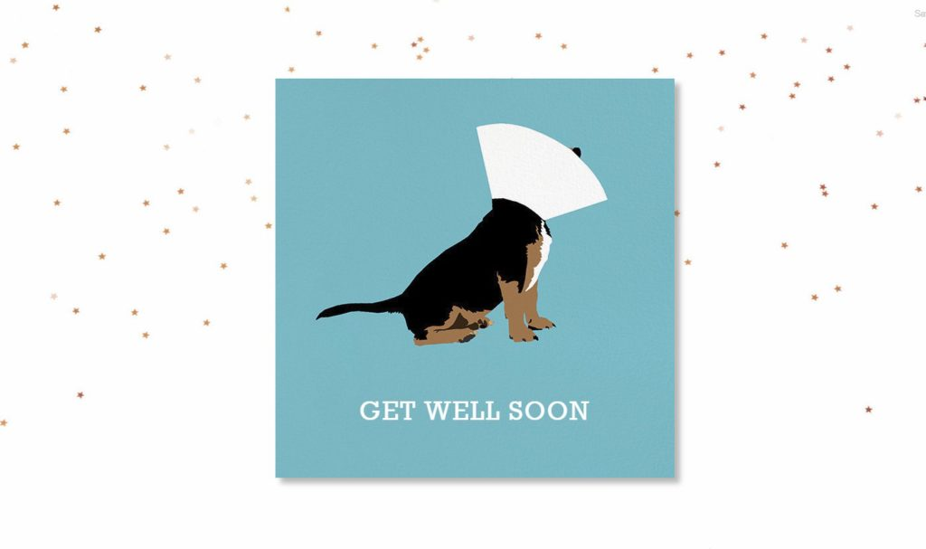Get Well Soon Card: Paperless Post
